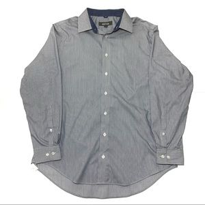 👑 Kenneth Cole Reaction Striped Button Down